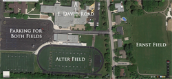 Field/Site Map - Alter High School & Ernst Park
